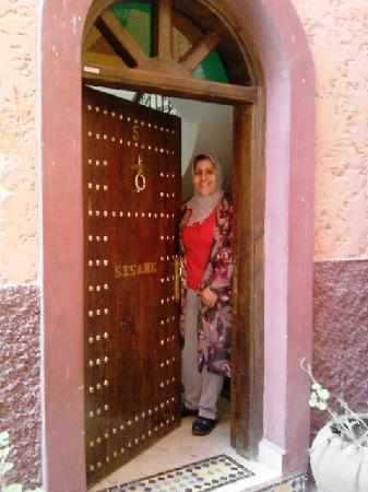 Riad Sesame : Le sourire de notre hotesse