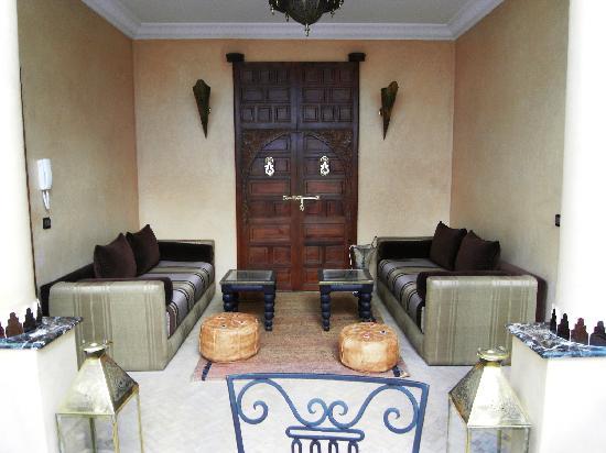 Riad Sesame : un des salons