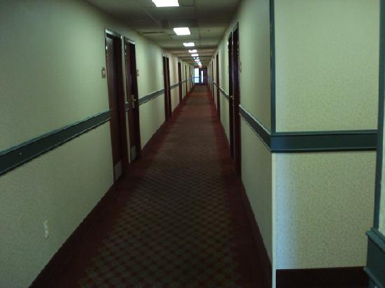 Scottish Inn Allentown: Hallway