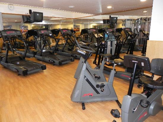 Fitness room picture of hilton prague old town prague tripadvisor