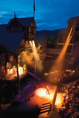 Ashland, OR: Elizabethan Stage (Doctor Faustus, 2005)