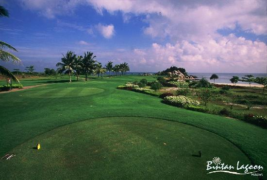 Bintan Lagoon Resort Golf Club: Jack Nicklaus Sea View Course #12 Tee