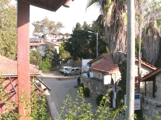 Belen Hotel: carpark distance as seen from balcony