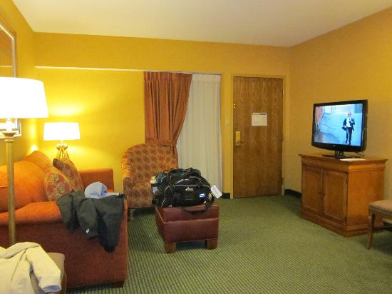 Embassy Suites by Hilton Greensboro - Airport: Living Room