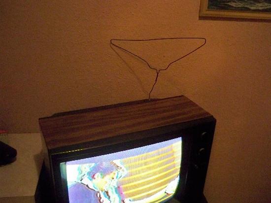 Hotel del Cobre : la antena de la tele!