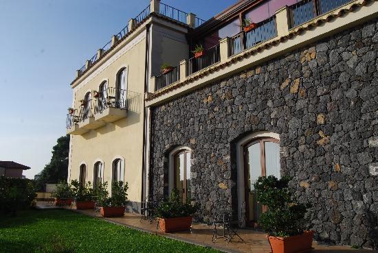 Santa Caterina Hotel: Le camere affacciate sul giardino