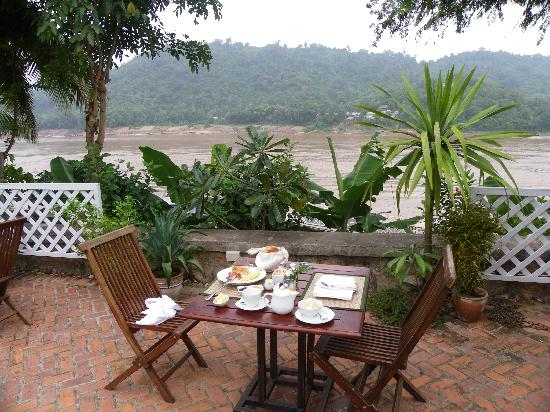 ‪‪The Belle Rive Boutique Hotel‬: Breakfast at the river‬