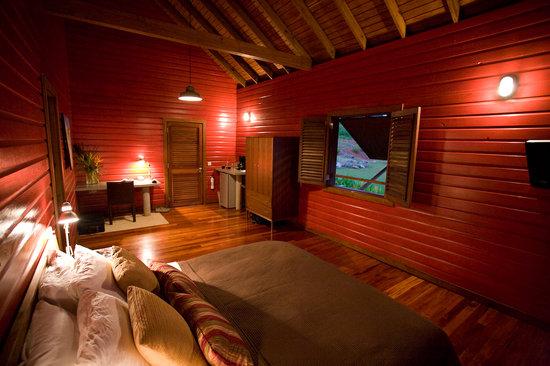 Pagua Bay House Oceanfront Cabanas: Inside Cabana 1