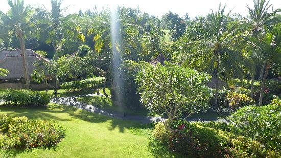 Pan Pacific Nirwana Bali Resort: Garden view