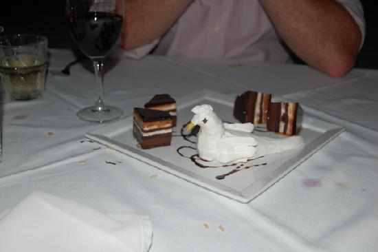 Isla Mujeres Palace: Fun, tasty, delightful after dinner treat