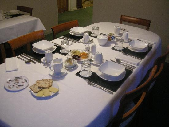 Bluebell Cottage : The breakfast room