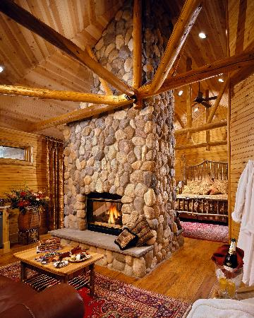 "The Fern Lodge: Our guest room ""Birch"""