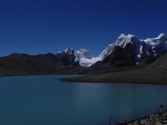 Sikkim, Indien: the sacred lake