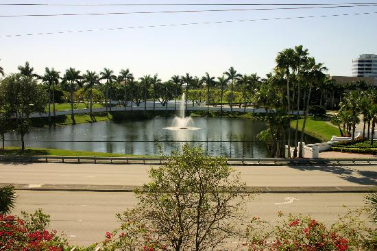 Hampton Inn West Palm Beach Central Airport: A view from our room