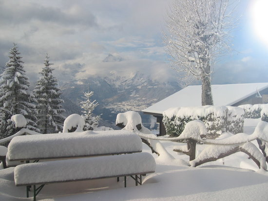 Chalet Martin: winter at the hostel