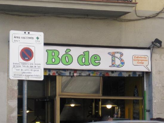Bo de B: view from outside