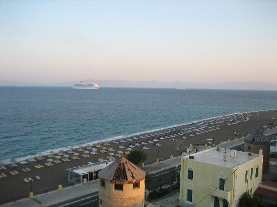 Hotel Riviera: Utsikt från balkong