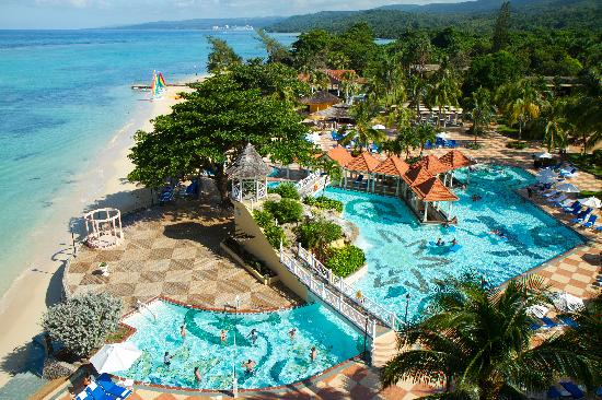 Jewel Dunn's River Beach Resort & Spa, Ocho Rios,Curio Collection by Hilton : Aerial View