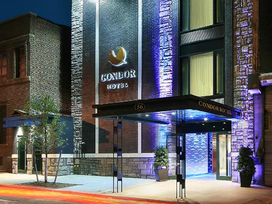 The Condor Hotel: Outside