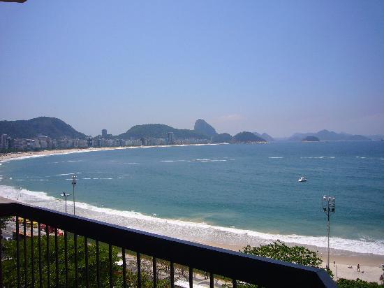 Sofitel Rio de Janeiro Copacabana: View from balcony