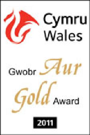 The Old Rectory Bed and Breakfast: Visit Wales Gold Award 2010-11
