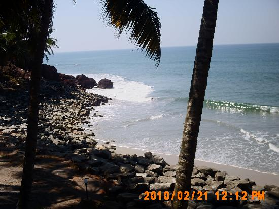 Sanctum Spring Beach Resort: All the photos are from the black beach which is clean