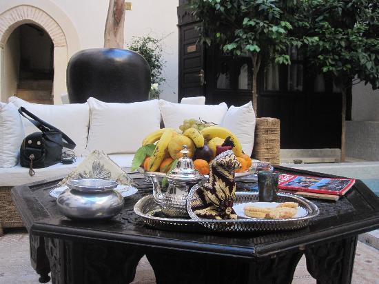 Riad Kheirredine: Il giardino interno