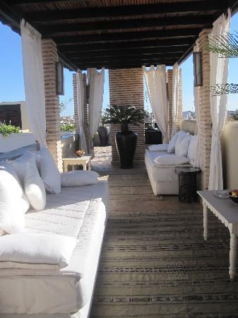 Riad Kheirredine: La terrazza