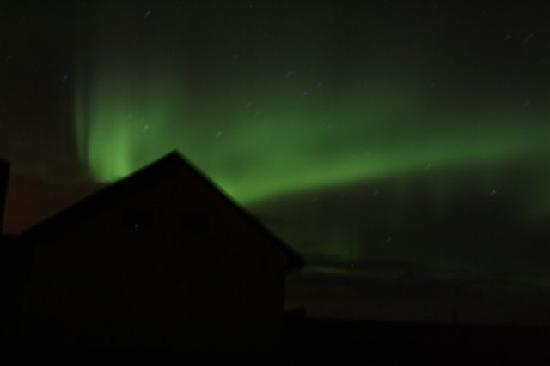 Aurora over Vatnsholt