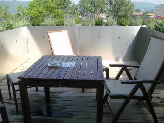 Hotel Villa Hugel: Balcony