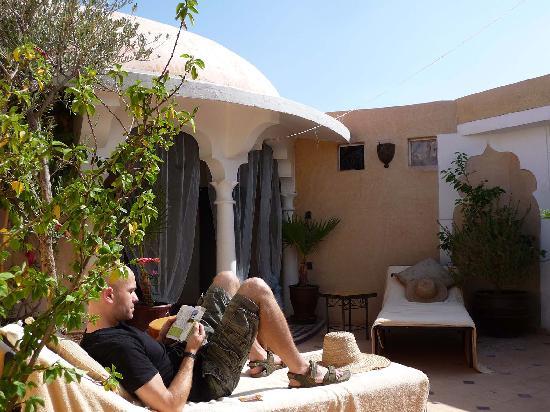 Riad Dollar Des Sables: Roof Terrace