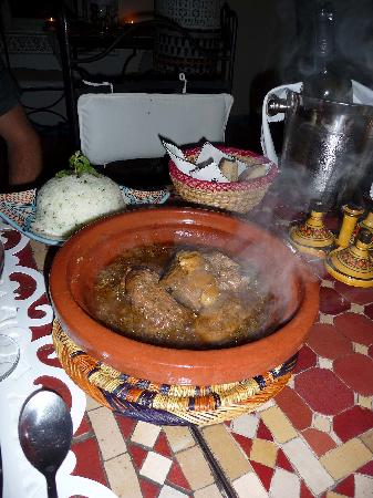 Riad Dollar Des Sables: Meal at Riad - Very, very Tasty!