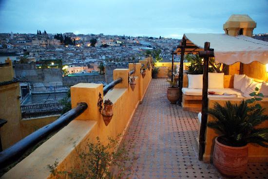 Riad Le Calife: roof deck