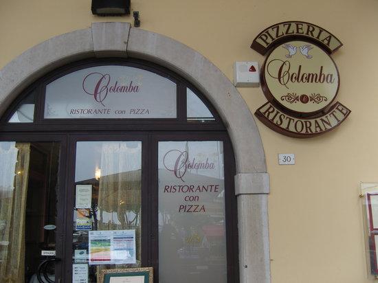 Ristorante Con Pizzeria Colomba : Columba