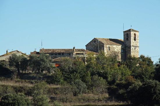 La Choca Hotel : View of Lecina
