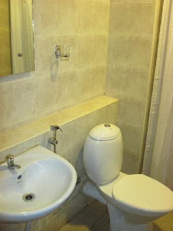 Hotel Fort Castle : Cozy bathroom
