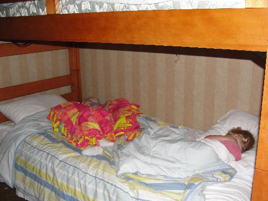 Holiday Inn & Suites: Comfortable for a family of 6.