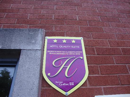 Quality Suites Quebec City : 3* ya... sure