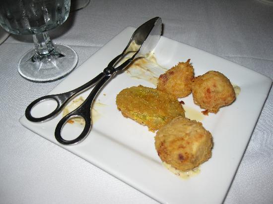 Cafe' Vermilionville: Crawfish Beignets-Cafe Vermilionville