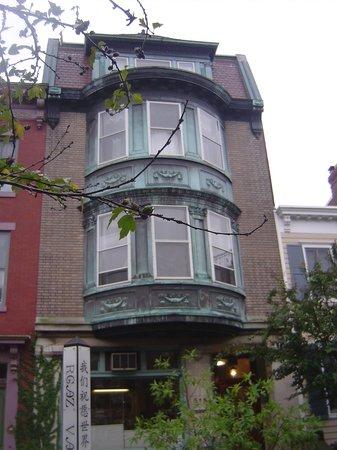 William Penn House: Fachada.