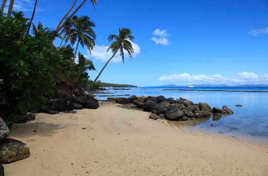 Taveuni Palms Resort: Part of your private beach
