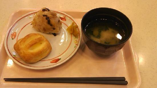 Toyoko Inn Osaka Tsuruhashi Ekimae : 朝食の一部