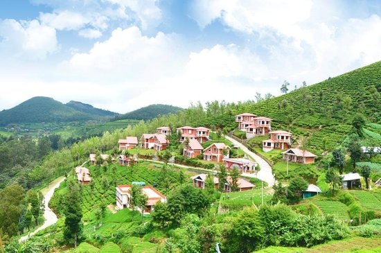 Naduvattam, India: Brookdale Village - An areal view