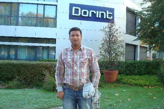 Dorint Pallas Wiesbaden: Back side of Hotel