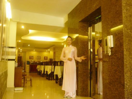 Hanoi Silver Hotel : elevator