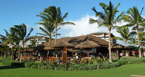 Duke's Beach House : Restaurant vom Strand aus gesehen