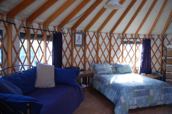 Alaska Base Camp: The queen bed, the daybed and pulloutbed