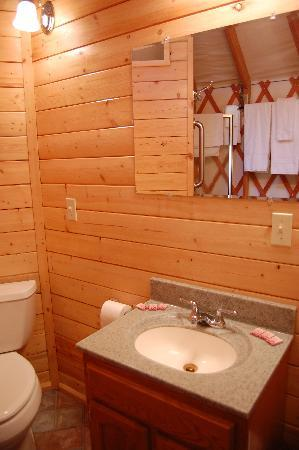 Alaska Base Camp: also in the bathroom