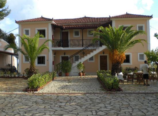 Villa Contessa: Vorderansicht