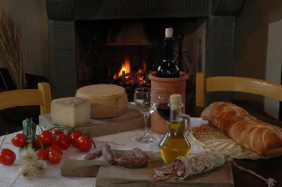 Cortona, Italia: Tuscan Salami